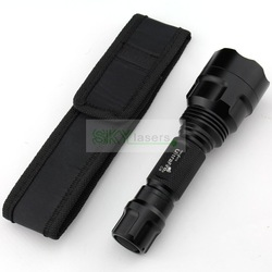 10pcs/lot New UltraFire Flashlight Holster Torch Case Pouch Torch Cover Free Shipping(China (Mainland))
