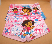 Free shipping New Cartoon Dora the Explorer Baby Girl Underwear Girl Summer Pants  Children Clothese baby wear (2pcs/lot)
