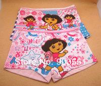 Free shipping New Cartoon Dora the Explorer Baby Girl Underwear Girl Summer Pants  Children Clothese baby wear (2pcs/lot)
