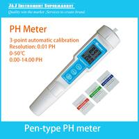 Digital Pen Type PH Meter Waterproof  Pocket Portable PH Meter PH Value Measurement and Control Instrument