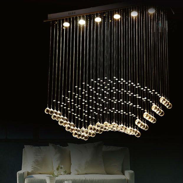 Achetez en gros design moderne lustre en ligne des for Lustre moderne salle a manger