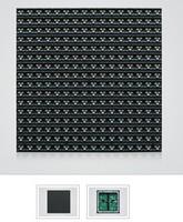 led outdoor full color module p12 1r1g1b 192X192mm wholesale