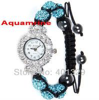 Young Ladies' Fashion Wristwatch - Shamballa Bracelet Watch Wholesale Free Shipping! Gift Battery