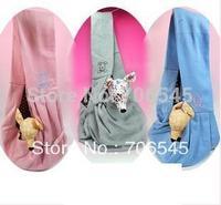 Pet Dog Cat Comfortable Sling Carrier Bag Travel, Dog Carrier Traveler Tote Bag Handbag, 3 colors for choosing