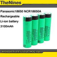 1 PC Original 18650 NCR18650A Rechargeable Li-ion battery 3100mAh 3.6V