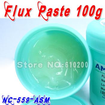 Free shipping 2/pcs AMTECH NC-559-ASM  No-Clean BGA Reballing Solder Ball Repair Solder Soldering Flux Paste soldering flux 100g