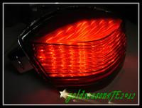 Smoke LED Tail Brake Light Integrated for 2006 2007 2008 Kawasaki Ninja 650R ER6