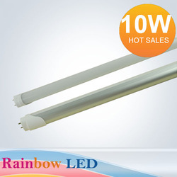 Free Shipping 2pcs/lot Wholesale 600mm 10w led T8 led tube lamp Top quality SMD 2835 Epistar 830lm CE & ROHS(China (Mainland))