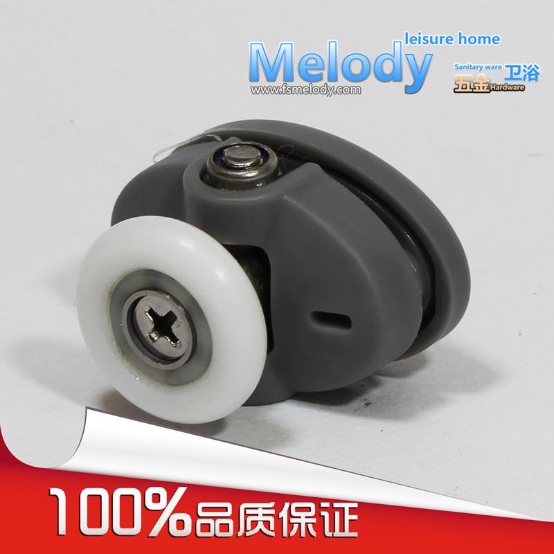 Me-008 Top single wheel shower door roller shower room accessories Bathroom fittings C-C 26mm(China (Mainland))