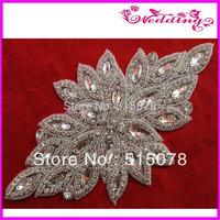 2013 New Arrive glass stone rhinestone sashes trimmings
