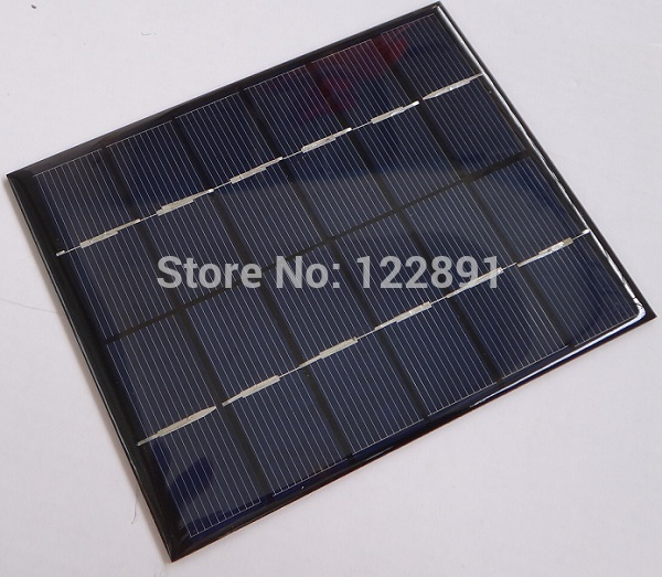 HOT Sale! Mini Solar Module Solar Cell 2W 6V Small Solar Panel for Battery Charger DIY Polycrystalline Free Shipping(China (Mainland))