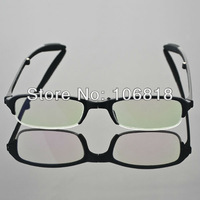 1x TR-90 Foldable Folding Black Full Frame Reading Glasses Magnifying Case +1.00