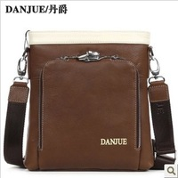 2013 New arrived fashion design Genuine leather cow Messenger bag Leather bag outdoor Business bag M66916-3