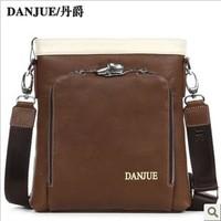 2013 New arrived fashion design Genuine leather cow Messenger bag Leather bag outdoor Business bag M66916-3