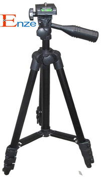 Free shipping (25 pieces/lot) Foldable Aluminum Telescoping Professional Video Camera Tripod