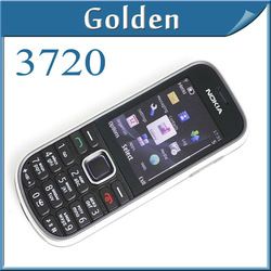 3720 Original Nokia 3720C Unlocked Mobile Phone with bluetooth java games mp3 player USB In stock Freeshopping(China (Mainland))