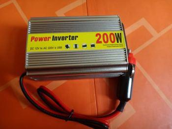 Car inverter 200w 12v 220v car power converter booster belt