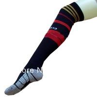 2014 Football World Cup Socks 13-14 AC Milan Club Home Soccer Socks,Football Long Thicken AC Milan trainning cotton Socks