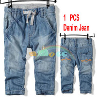 2013 new childrens / baby boys jean kids free shipping baby boys jean for summer and spring