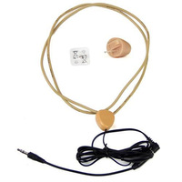 micro earpiece invisible earbud   with inducttive neckloop 100% quality test before delivery