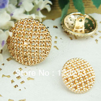 free shipping Buttons fashion suit overcoat button metal button gold