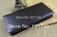 2015 new Male genuine leather clutch wallet men's casual cowhide wallet men purse zipper bag multifunctional clutch bag WL908118