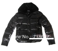 Free shipping -2013 classical sections behind Mickey pattern, Slim Short warm men's down jacket