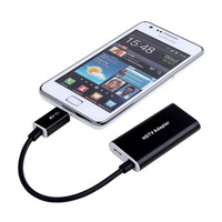Aluminum MHL Micro USB to HDMI Cable Adapter for Samsung Galaxy Note 2 N7100