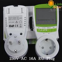 Single Phase Energy Kilowatt Hour kWh Meter AC 190-270V 50/60HZ Germany Standard Energy Meter WATT Power Voltage Meter TUV/GS