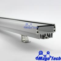 DHL/FEDEX /EMS Free shipping- 100CM  LED  washer wall  Light housing for  18W  wash wall profile heatsink