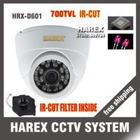 700TVL CMOS 24leds IR15M with IR-CUT Filter indoor dome CCTV Camera.free shipping !!!