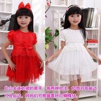 Free shipping 2013 new style fashion Princess Dress Solid TUTU dress Ruffle layered dress 4pcs/lot 1042