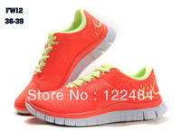 2013 hotsale women's running shoes women's sports shoes free run 4.0 v2 top quality with  free shipping
