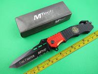 Mtech Fire Fighter Aluminum Handle POCKET FOLDING KNIFE MT-740