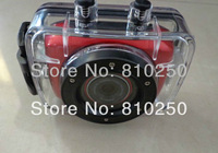 Free Shipping DV123 HD 720P Mini DV DVR Waterproof Outdoor Sports Helmet Camera Motorcycle Camera
