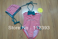 Lovely children swimwear two pieces suitable for92-98/104-110/116-122/128-134 cm high  baby   with Free shipping