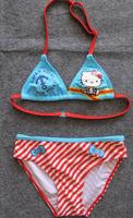 2013Free Shipping children girl kids' swimsuits swimwear sexy bikini hello kitty swimmers swimming bathers