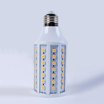 Wholesale 10pcs/lot 360 degree 110V/220V 86 SMD 5050 LED E27 White/Warm White Corn Light bulb 15W led lamp EMS free shipping