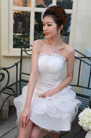 SS--2013 new beautiful and elegant bride Bra wedding dress Qi Korean version of the shell was thin wedding