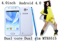IN STOCK multiple languages original  N93004.0''touchinch screen Android 4.0.3 dual SIM dual core GPS WIFI unlocked phone