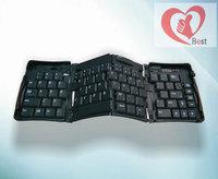 Free shipping Chandral  Bluetooth keyboard Laptop wireless keyboard  Fold bluetooth keyboard