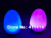 Manufacture factory Directly Selling-7 Color changing Tumbler LED mood Living Light egg shaped LED Lamp