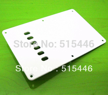 10pcs/lot White Cavity Cover Back Plate Strat Stratocaster Guitar