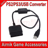 20pcs a Lot Game Controller Adapter for PS2 / PS3 / PC USB