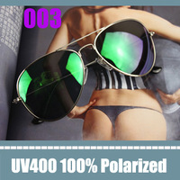 sun glasses women's polarized sunglasses green mirror lens 3025 sunglasses eyeglasses men polaroid brand designer with box