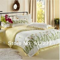 Promotion !!!Free Shipping Reactive Printing BEDDING 4pcs Bedding Set duvet  covet set queen king size QUILT COVER SET