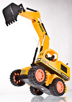 Free Shipping big size RC car Excavator  toys with electric toy car remote engineering  stunt best gift for kids  6 Channels