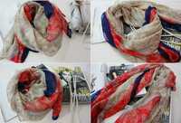 2013 Spring new national bohemian long silk scarves cotton shawl Korean version of the scarf