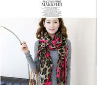 2013 female Korean Bali yarn love long scarf scarf shawl scarves leopard spring autumn and winter