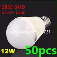 50pcs/lot E27 12W 2835SMD AC85-265V Bubble Ball Bulb High power Energy Saving Ball LED Light Bulbs Lamp Lighting Free shipping